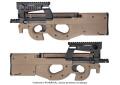 【上級者向け】【18才以上用】【海外製 電動ガン】 King  Arms  FN P90 Tactical - DE