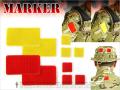 LayLax(ライラクス)  【装備・サバゲー用品・マーカー】 マーカーパッチ <ベルクロ仕様・マジックテープ>