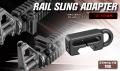 東京マルイ  【オプションパーツ(その他)】 RAIL SLING ADAPTER  レイルスリングアダプター