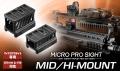 東京マルイ  【オプションパーツ(マウントパーツ)】 MICRO PRO SIGHT MID/HI-MOUNT マイクロプロサイト用 ミドル/ハイマウント