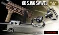 【18才以上用】 東京マルイ  【オプションパーツ(その他)】 QD SLING SWIVEL(QDスリングスイベル)