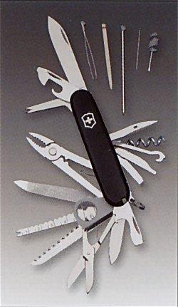 ビクトリノックス SWISS CHAMP 91mm ブラック VICTORINOX