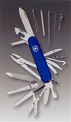 ビクトリノックス SWISS CHAMP 91mm ブルー VICTORINOX