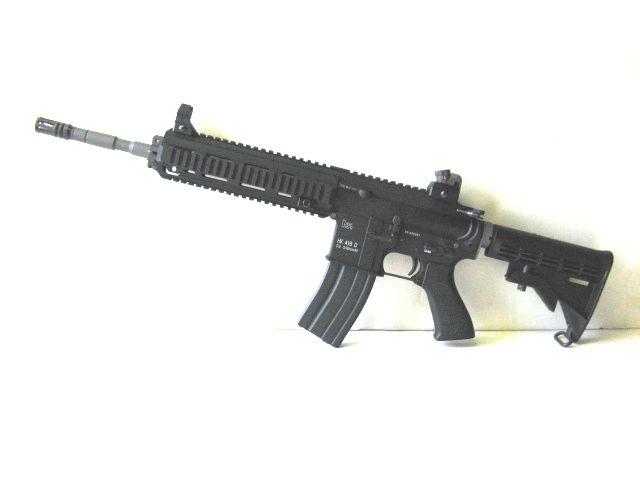 WE  【海外製 ガスブローバック】 HK 416D