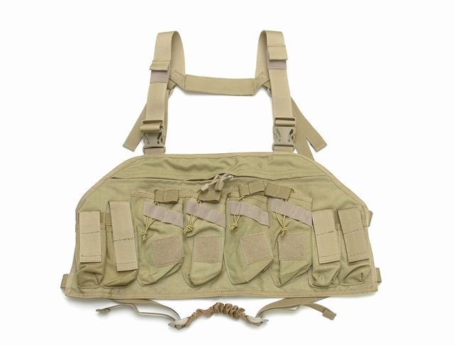 AK ATTACK Chest Rig (Khaki )