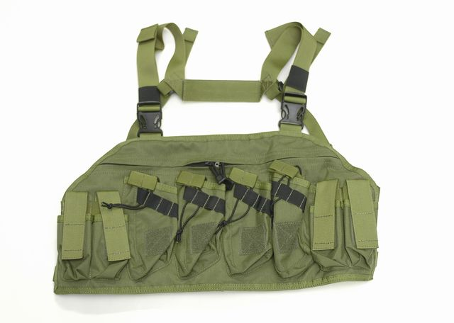 AK ATTACK Chest Rig ( OD )