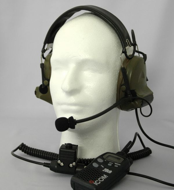 Element ComtacII Headset with PTT (iCOM)