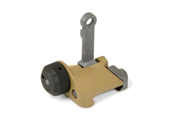 VFC KAC type 300m Flip-Up Rear Sight  (TAN)