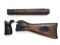 実物 H&K G3木製ハンドガード、ストックセット