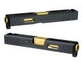 DETONATOR マルイG19用SAI Tier1 Glock 19 スライドセット -BK
