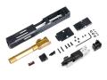X-Craft FI G17 MK2 CNCスライド/アウターバレルセット (Goldバレル)