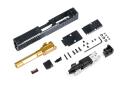 X-Craft FI G19 MK1 CNCスライド/アウターバレルセット (Goldバレル)