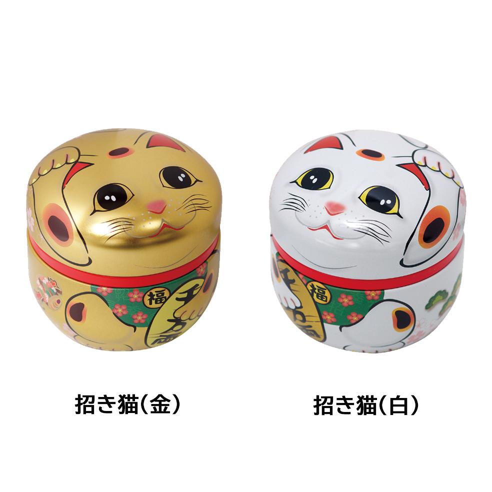 招き猫(マネキネコ) 特撰ぐり茶 100号 50g(プラケース入)