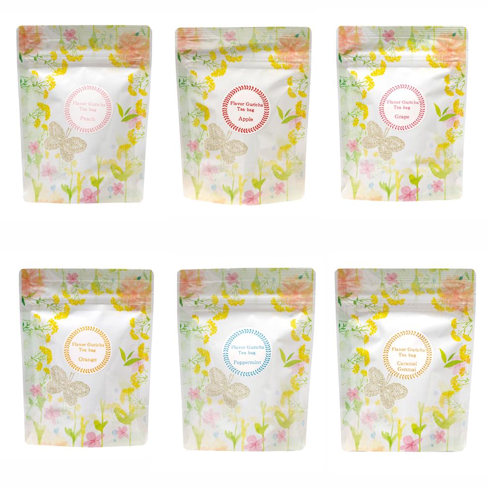 フレーバーぐり茶 各種(ティーバッグ)(3g×8P)