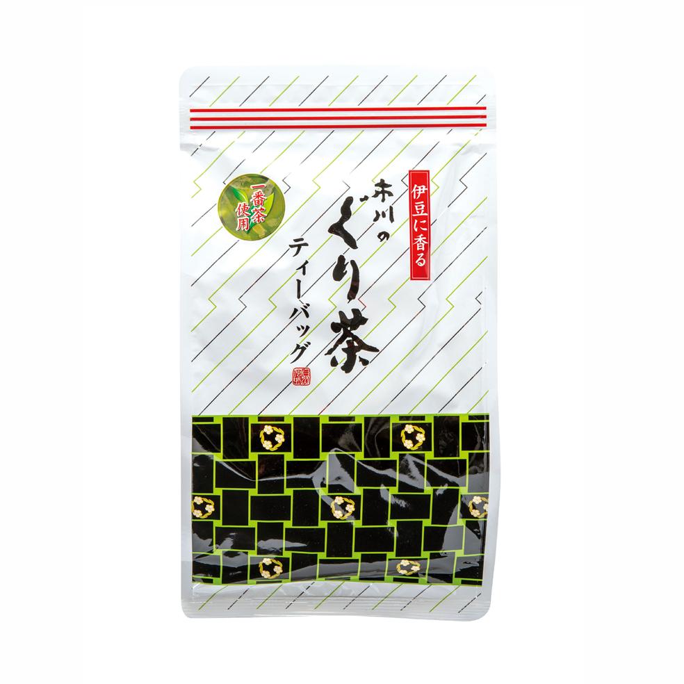 市川のぐり茶ティーバッグ(大) 240g(約80P)