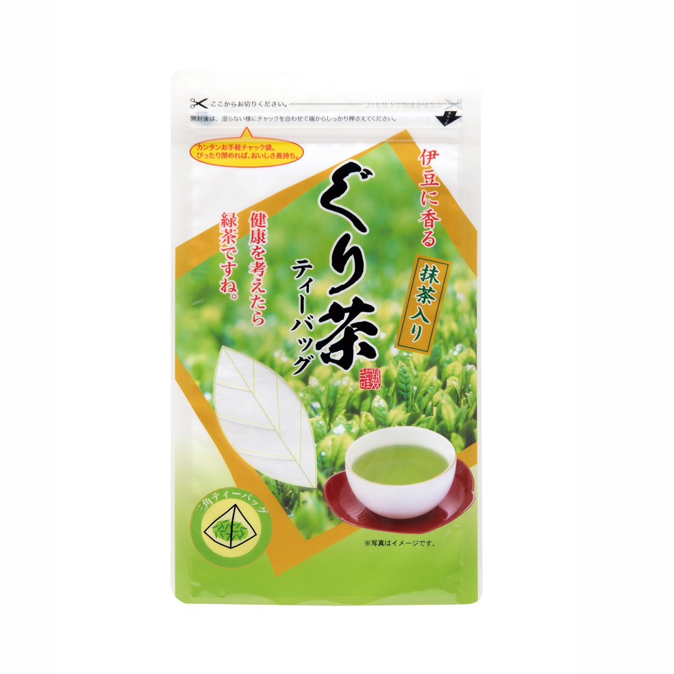 抹茶入ぐり茶ティーバッグ 60g(約20P)