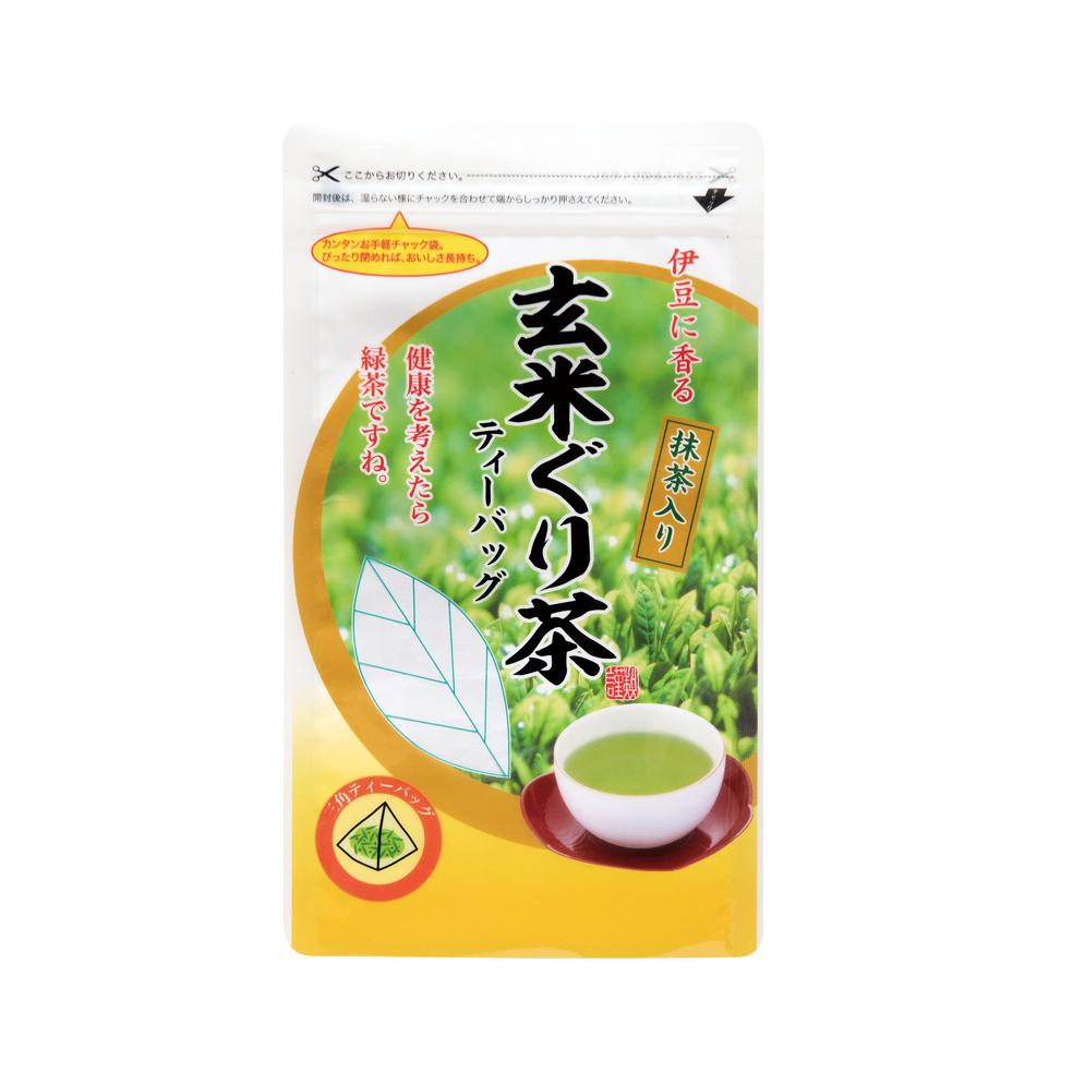 抹茶入玄米ぐり茶ティーバッグ 60g(約20P)