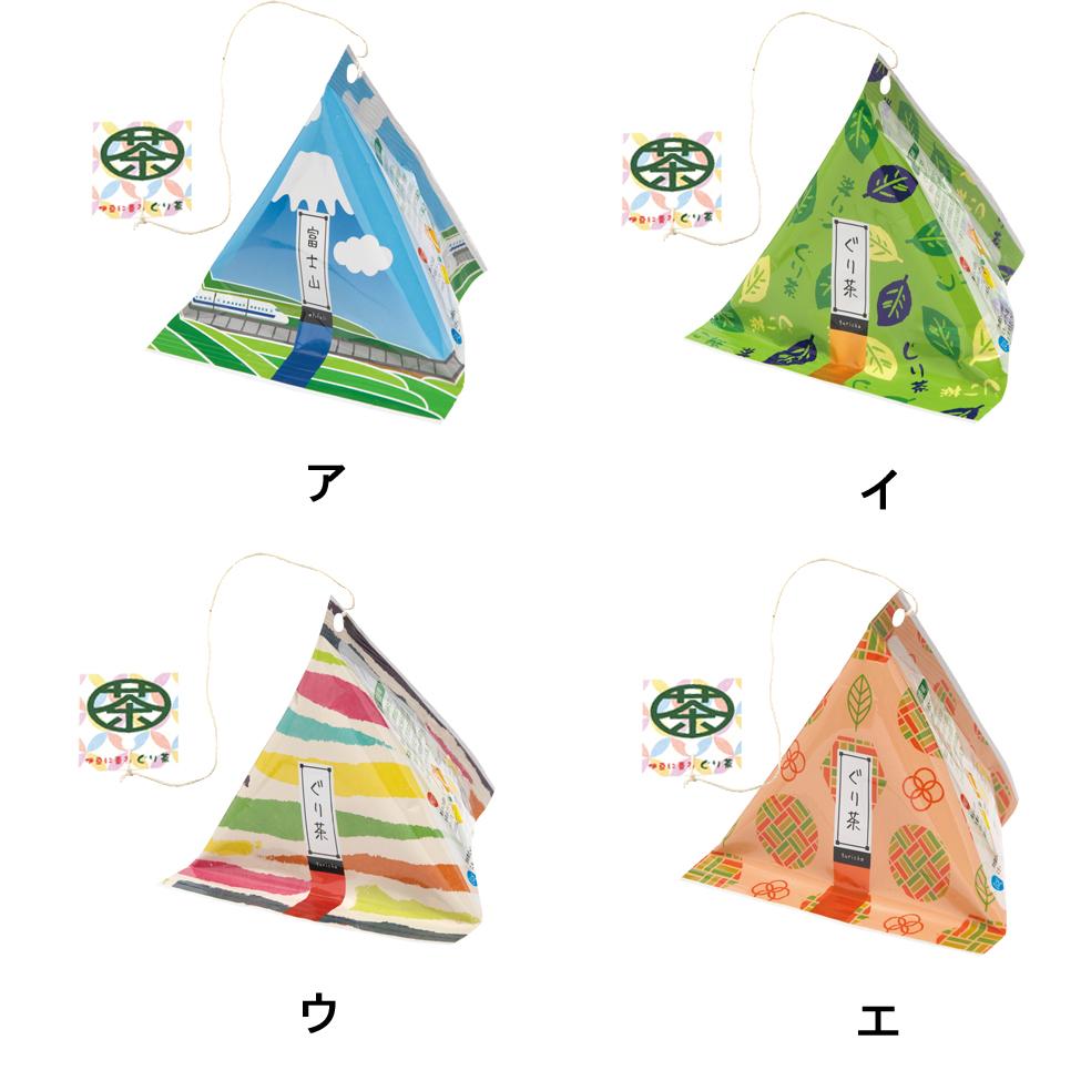 三角テトラティーバッグ1 [ぐり茶糸付ティーバッグ16g(2g×8P)]