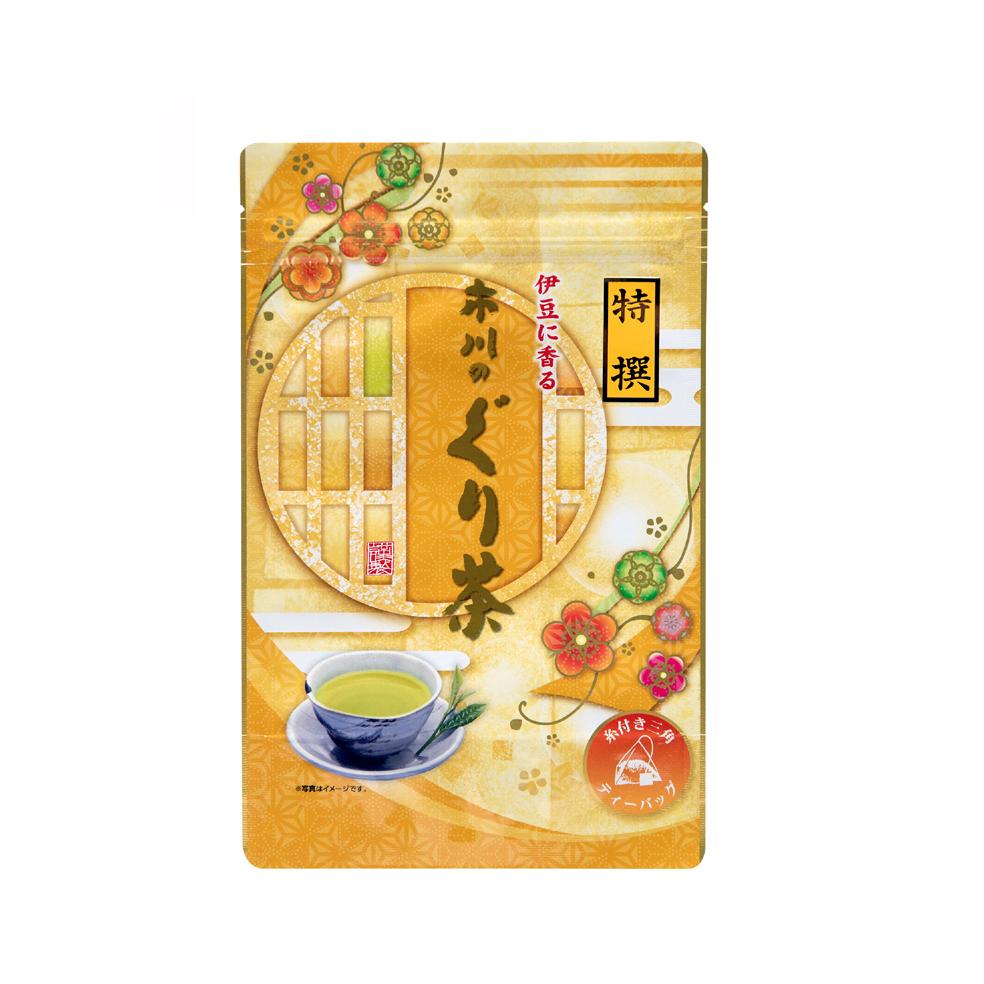 特撰ぐり茶100号糸付ティーバッグ 3g×24P