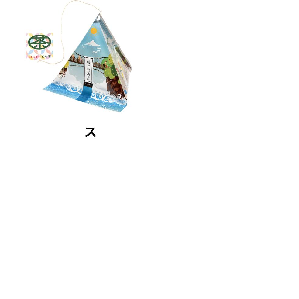 三角テトラティーバッグ4 [ぐり茶糸付ティーバッグ16g(2g×8P)]