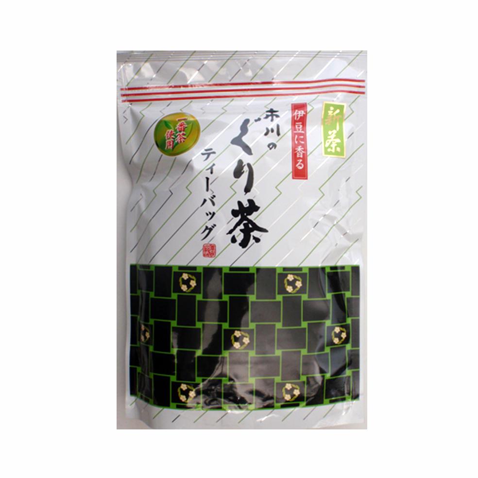 新茶 市川のぐり茶ティーバッグ(大) 240g(約80P)(8月中旬予定)