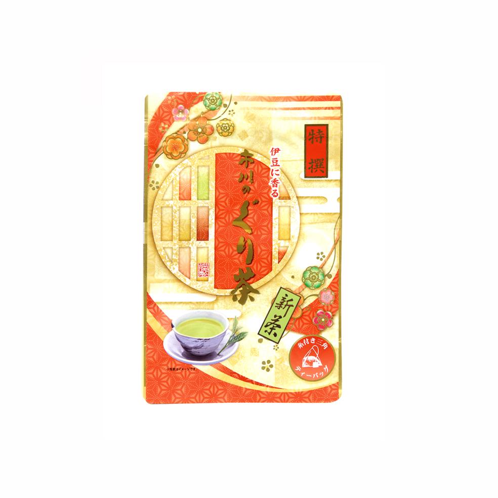 新茶 特撰ぐり茶200号糸付ティーバッグ 3g×24P(5月中旬予定)