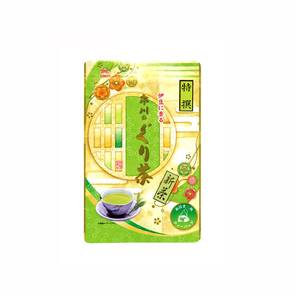 新茶 特撰ぐり茶150号糸付ティーバッグ 3g×24P(5月中旬予定)