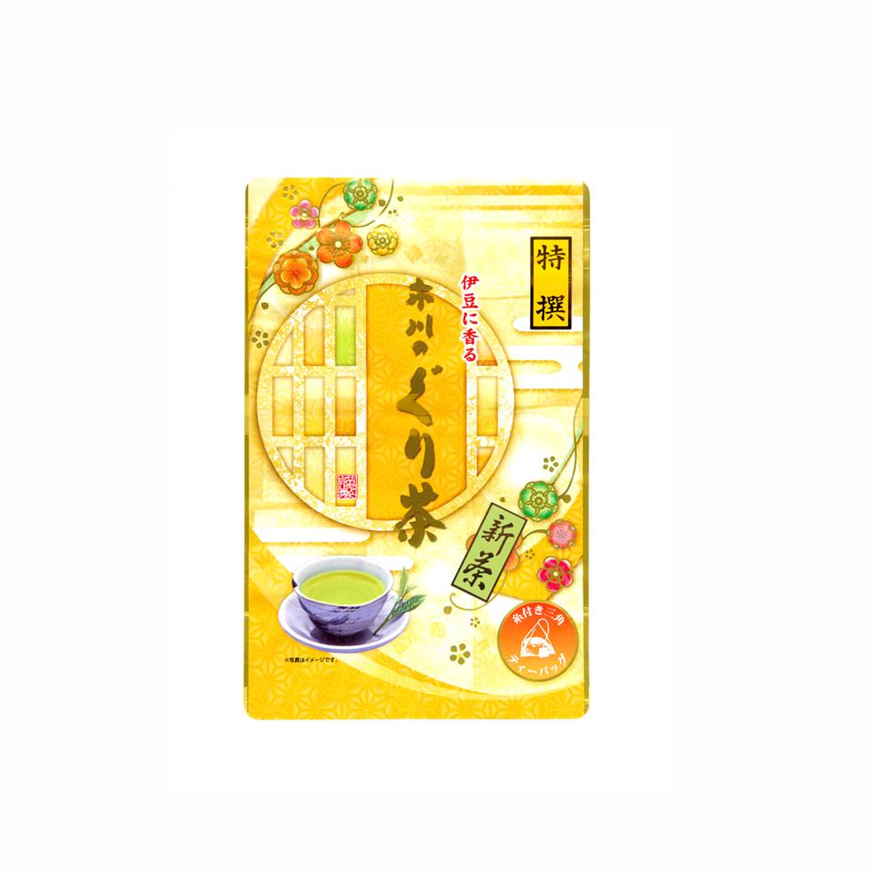 新茶 特撰ぐり茶100号糸付ティーバッグ 3g×24P(5月中旬予定)