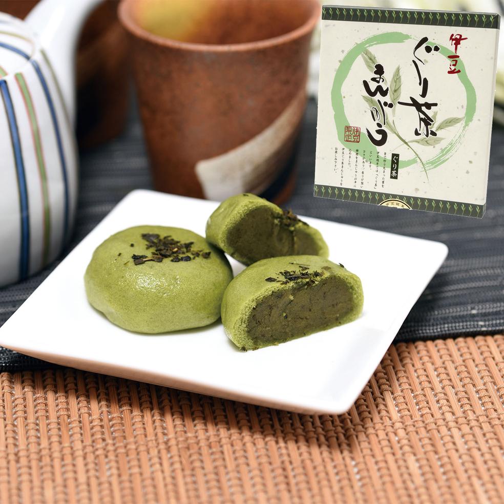 伊豆 ぐり茶まんじゅう(氏原製菓)