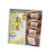 新茶 特撰ぐり茶(100g×2本)+伊豆に香る ぐり茶どら焼き 4個