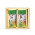 新茶缶(シンチャカン)(中) 新茶 特撰ぐり茶 100号 / 彩 各120g入(2本箱入)(5月上旬予定)