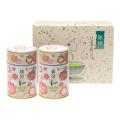 新茶缶(花) 新茶 特撰ぐり茶 100号 / 彩 各50g入(2本箱入)(5月上旬予定)