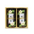 茶花(チャバナ)(紙製) 新茶 特撰ぐり茶 100号 / 彩 各120g入(2本箱入)(5月上旬予定)