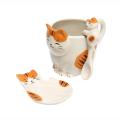 猫カップ(トラ) 3点セット