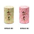 和紙貼缶[新茶缶(小)] 新茶 特撰ぐり茶 100号 50g×1本(プラケース入)(5月上旬予定)