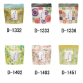 和柄チャック付袋2 (ぐり茶糸付ティーバッグ12g(2g×6P))