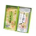 特撰ぐり茶(100g×2本)+玉露プラス 焼きあご入り おいしいだし(8g×10)