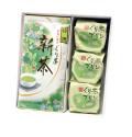 新茶 特撰ぐり茶(100g×2本)+ぐり茶プリン3個