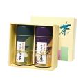 萩花の宴(シュウカノエン) 特撰ぐり茶 100号 / 冬の彩り 各120g 2本セット箱入