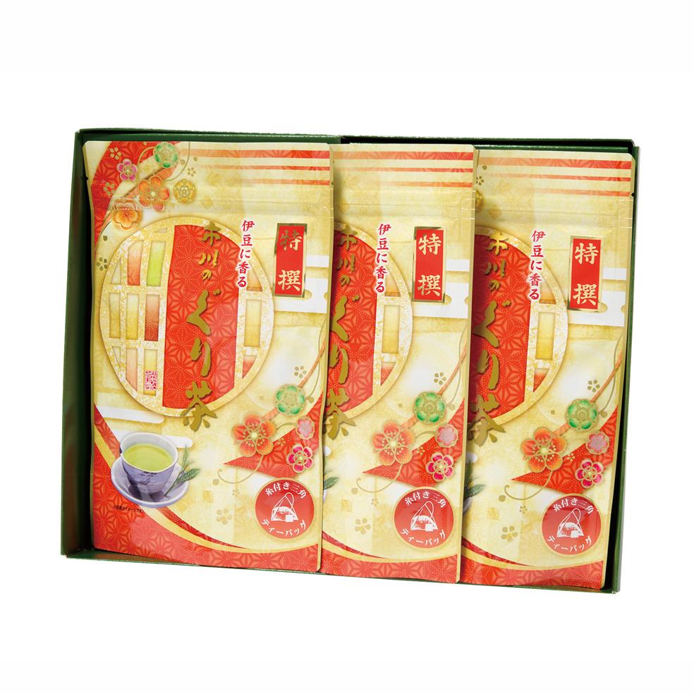 特撰ぐり茶200号糸付ティーバッグ(3g×24P)×3袋