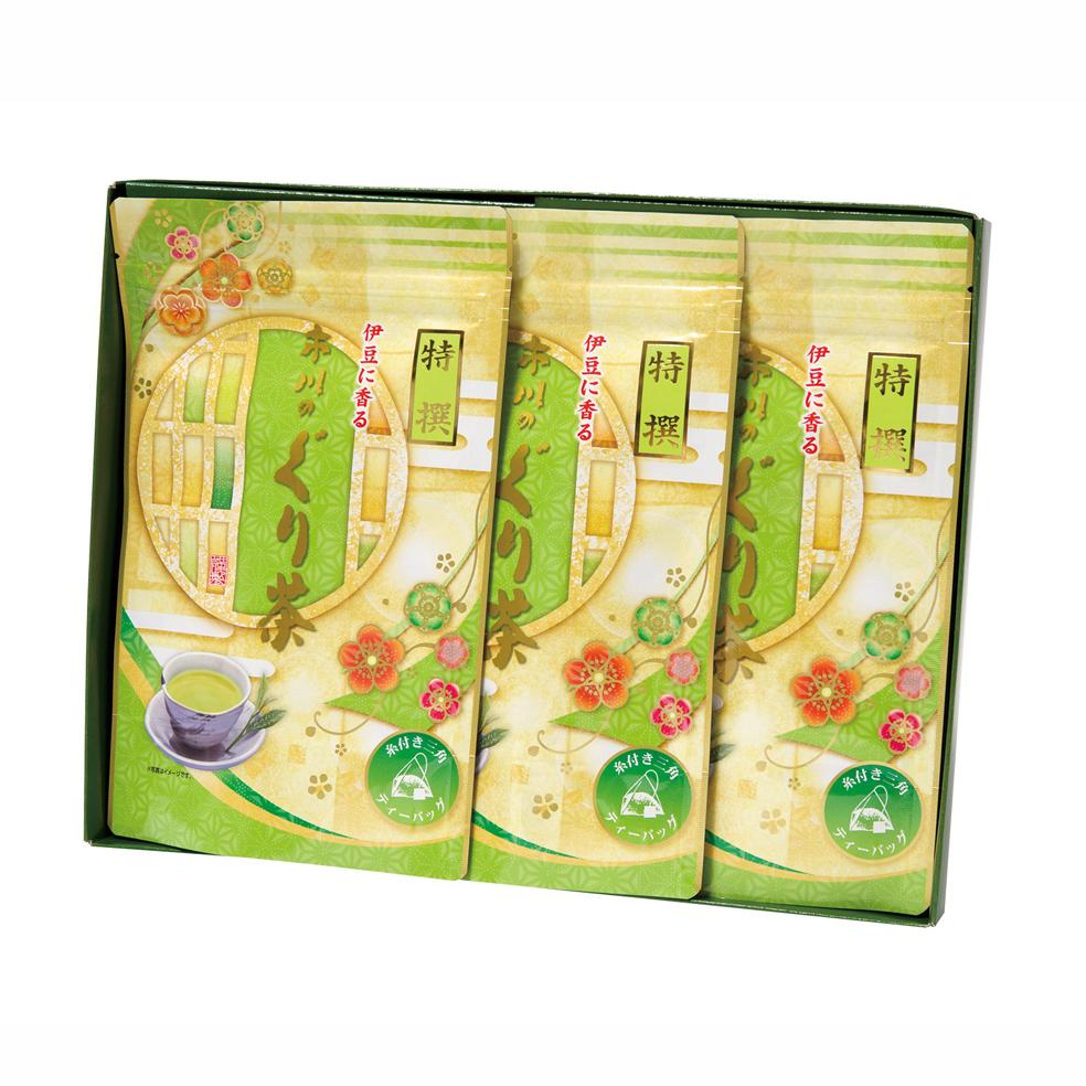 特撰ぐり茶200号糸付ティーバッグ(3g×24P)×2袋
