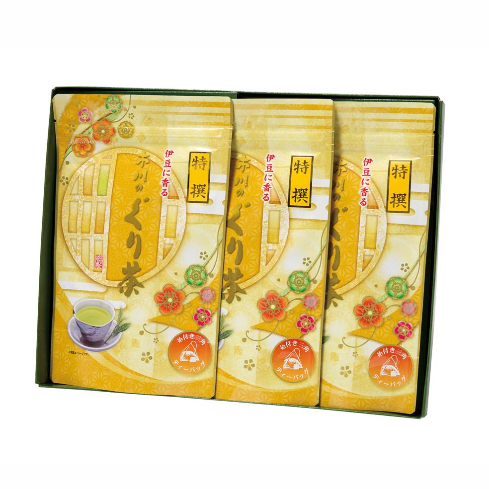 特撰ぐり茶150号糸付ティーバッグ(3g×24P)×3袋