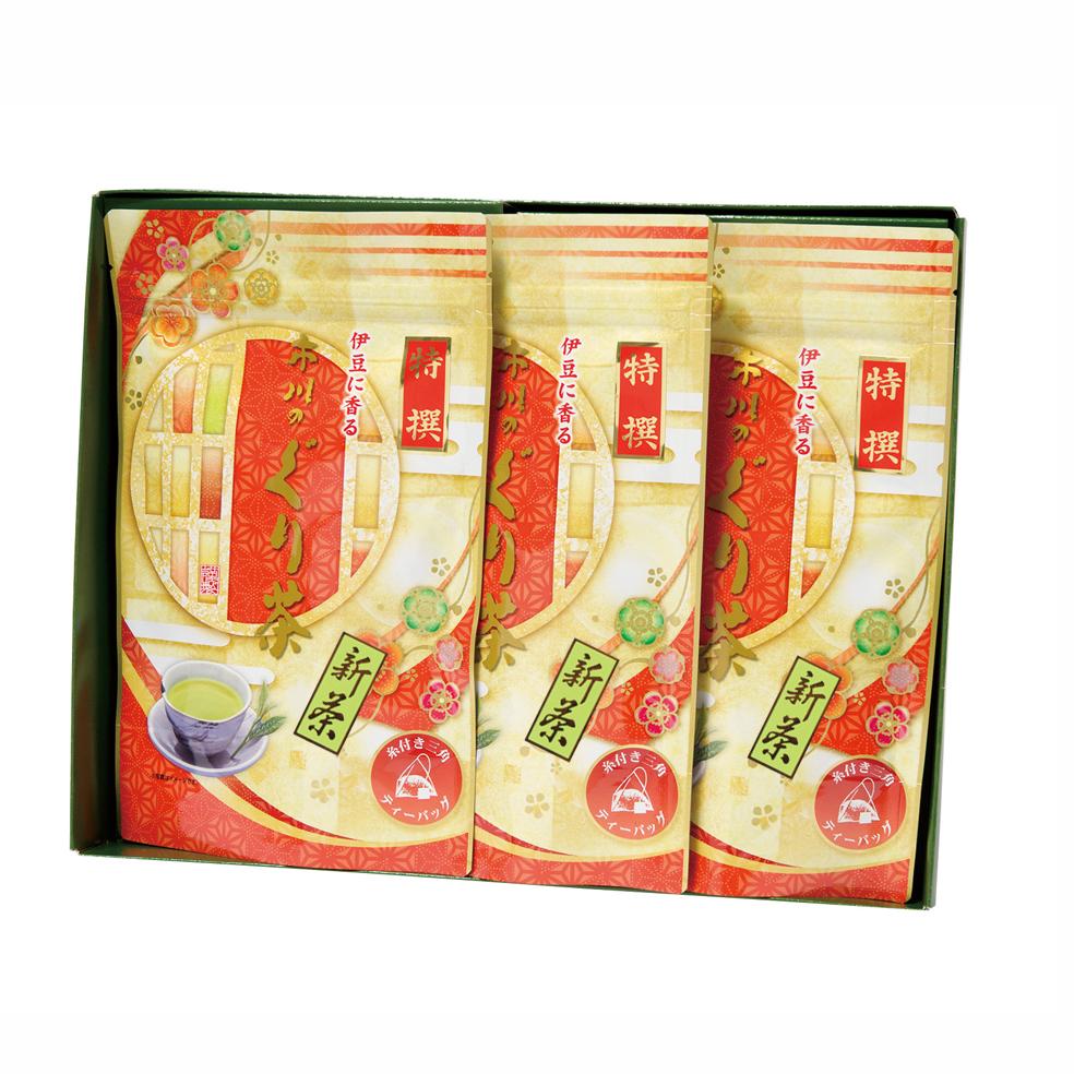 新茶 特撰ぐり茶200号糸付ティーバッグ(3g×24P)×3袋(5月中旬予定)
