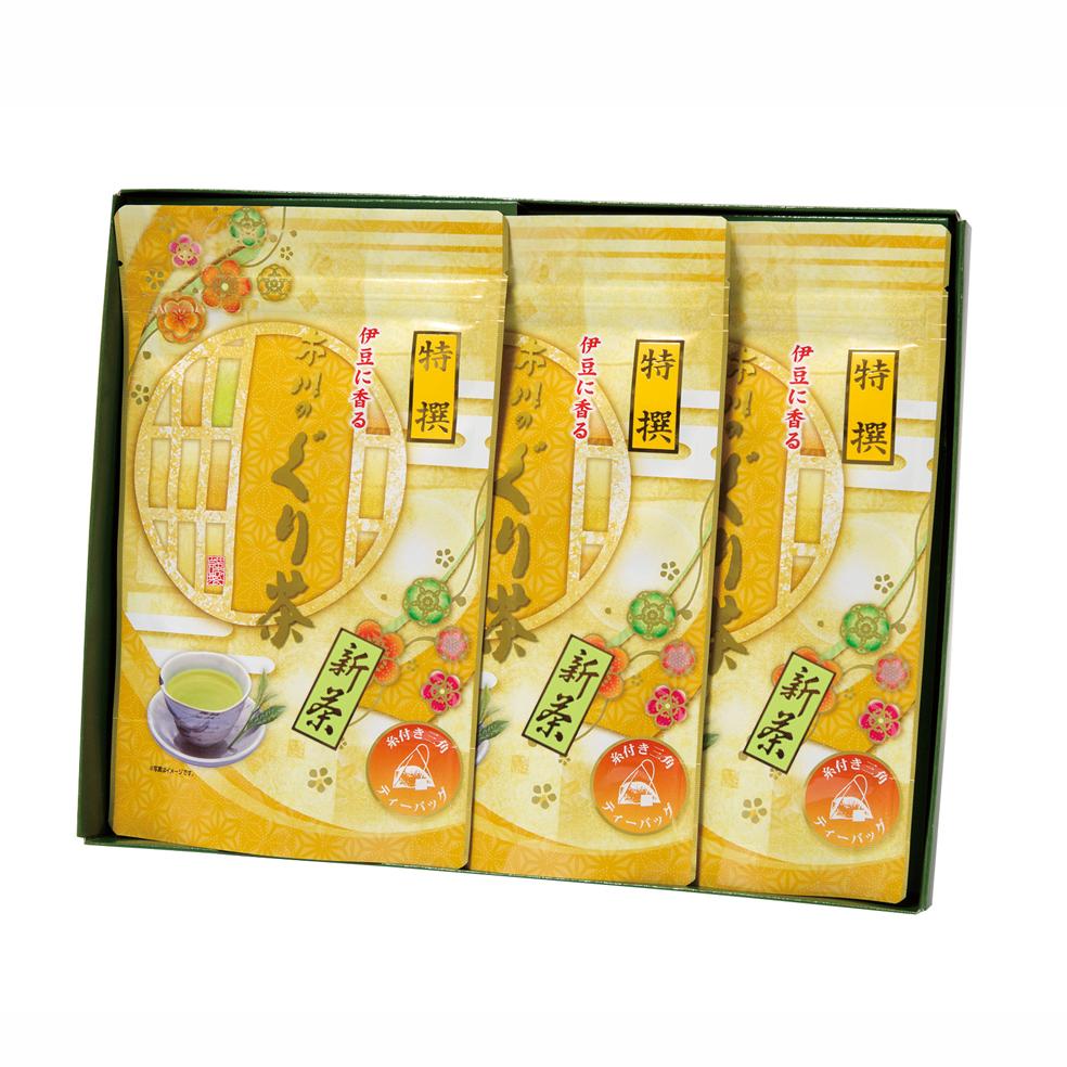新茶 特撰ぐり茶150号糸付ティーバッグ(3g×24P)×3袋(5月中旬予定)