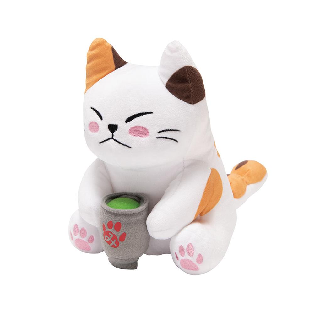 お茶屋の看板ネコ みたらしちゃん(ぬいぐるみ)