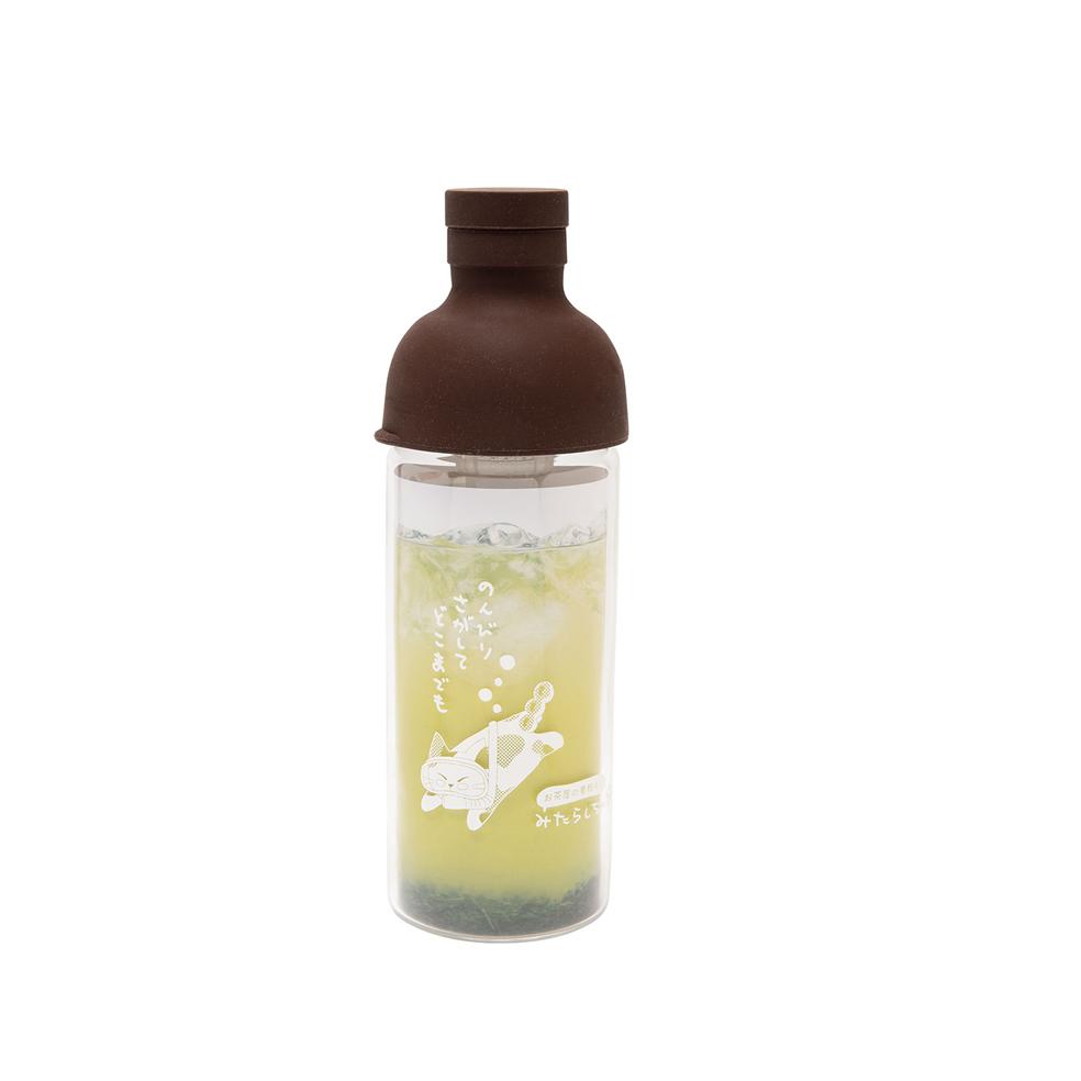 お茶屋の看板ネコ みたらしちゃん フィルターインボトル(パーソナル) 300ml