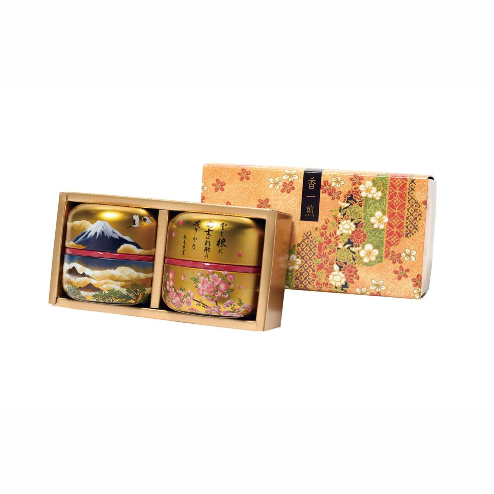 富士黄金(フジコガネ) 特撰ぐり茶 50g×2本セット箱入