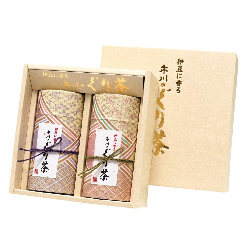 綾菱(アヤビシ) 特撰ぐり茶 150号 / 冬の彩り 各150g 2本セット箱入