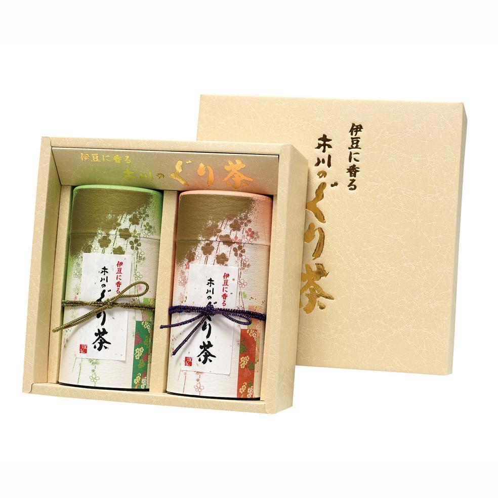 香りの詩(カオリノウタ) 特選ぐり茶 150g×2本セット箱入(定番)