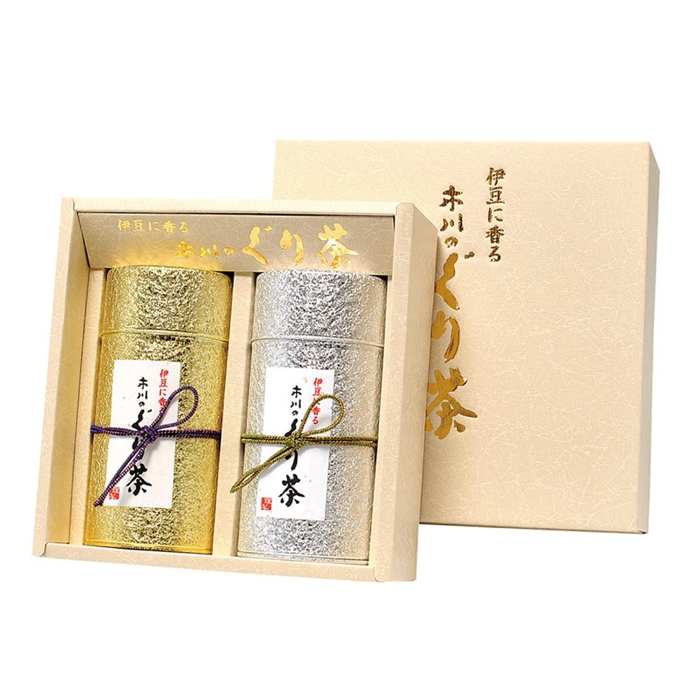 オーロラ 特撰ぐり茶 150g×2本セット箱入(定番)